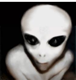 A Grey alien?