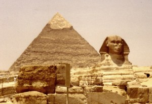 The Sphinx and Pyramid of Khaefre