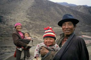 Tibetan nomadic herders, known as dropka