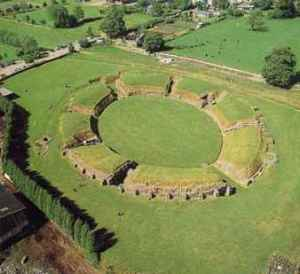 The Caerleon amphitheatre