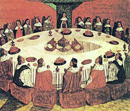 King arthur round table.