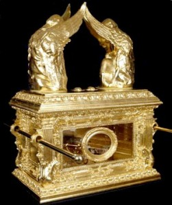 A modern reconstruction of the Ark of the Covenant
