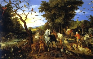 The Entry of the Animals into Noah's Ark by Jan Breughel the Elder