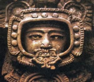 Head from Tikal (Guatemala)