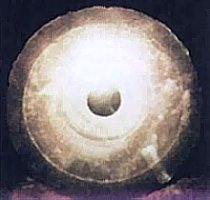 An alleged Dropa Stone