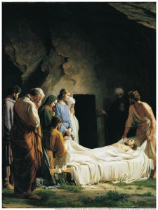 The Burial of Jesus by Carl Heinrich Bloch