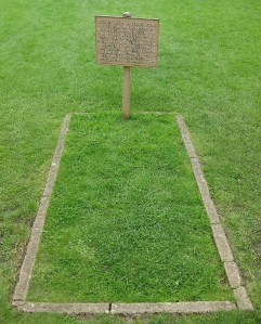 The site of Arthur's grave