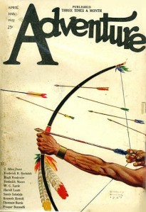 Cover of Adventure, 30 April 1922