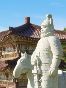 Statue of King Dongmyeong