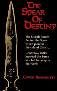 The cover of Trevor Ravenscroft's The Spear of Destiny</em?