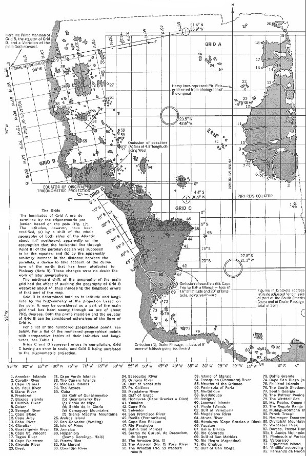 Old maps, the Americas and Antarctica
