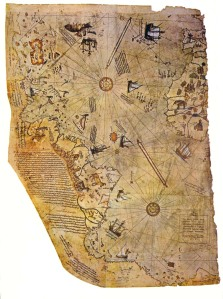Piri Re'is's map of 1513
