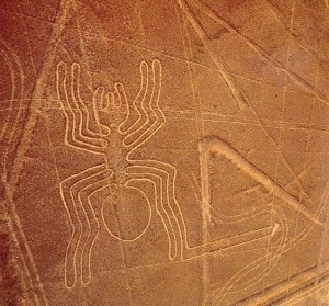 The spider geoglyph