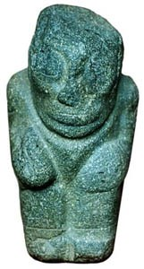 A figurine thought to be of Tunupa