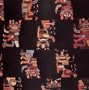 An example of Paracas Necropolis Culture embroidery