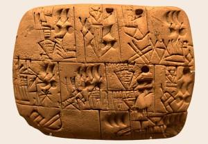 Real proto-cuneiform